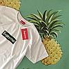 Supreme Cannabis женская футболка • Топовая бирка • Принт ганджубас марихуана, фото 2