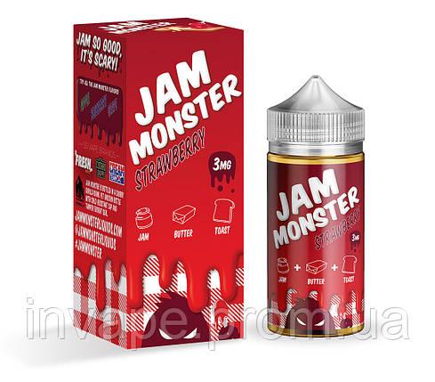 Jam Monster – Strawberry (Клон премиум жидкости), фото 2