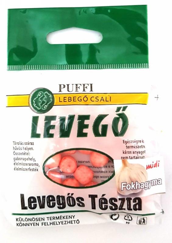Тесто для рыбалки, воздушное PUFFI LEVEGO, Чеснок, миди, 5гр.