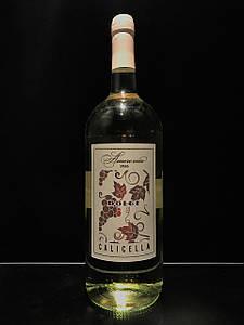 Итальянское вино белое полусладкое Amore Mio Dolce Calicella 1.5л