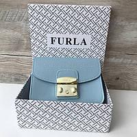 Женская кожаная сумка клатч Furla metropolis