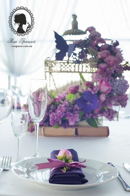 Весенняя свадьба в ресторане Интурист