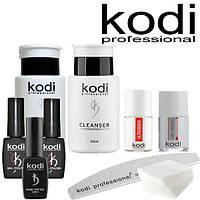 """Стартовый набор для покрытия ногтей гель лаком Kodi """"Стандарт"""" (без лампы)"""