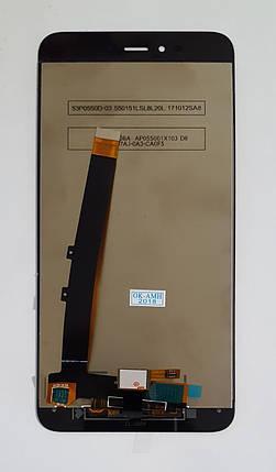 Модуль (дисплей + сенсор) для Xiaomi Redmi Note 5A, Redmi Y1 Prime original чорний, фото 2