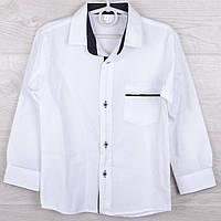 """Рубашка школьная детская """"Классика"""" с налокотниками 7-8-9-10 лет. Школьная форма оптом"""