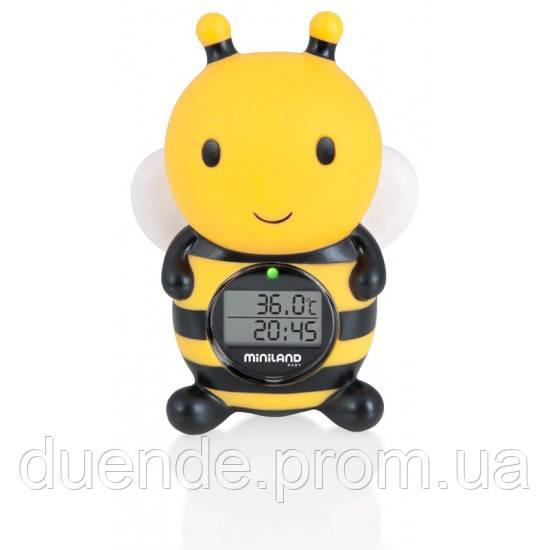 Цифровой термометр Miniland Baby для воды и воздуха Thermo Bath / Min 89061
