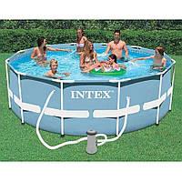 Каркасный бассейн Интекс PRISM FRAME POOL Intex 28702, + фильтр-насос размером 305x76 cм.!