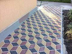 Укладка тротуарной плитки 17