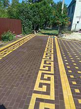 Укладка тротуарной плитки 22
