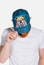 3D кепка-бейсболка The Mountain кепки бейсболки с 3д принтом рисунком - Разноцветный Бульдог, фото 2