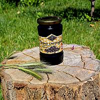 Черная смородина перетертая с сахаром 400 г.