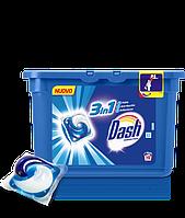 Стиральные капсулы Dash ecodosi pods 3in1 19 шт