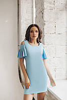 Женское платье с открытыми плечами , фото 1