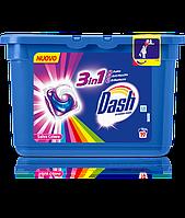 Стиральные капсулы Dash ecodosi pods 3in1 Salva Colore 19шт
