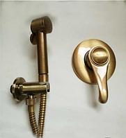 Встроенный смеситель для биде в бронзе 4-010