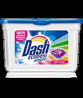 Стиральные капсулы Dash Ecodosi SALVA COLORE 21шт