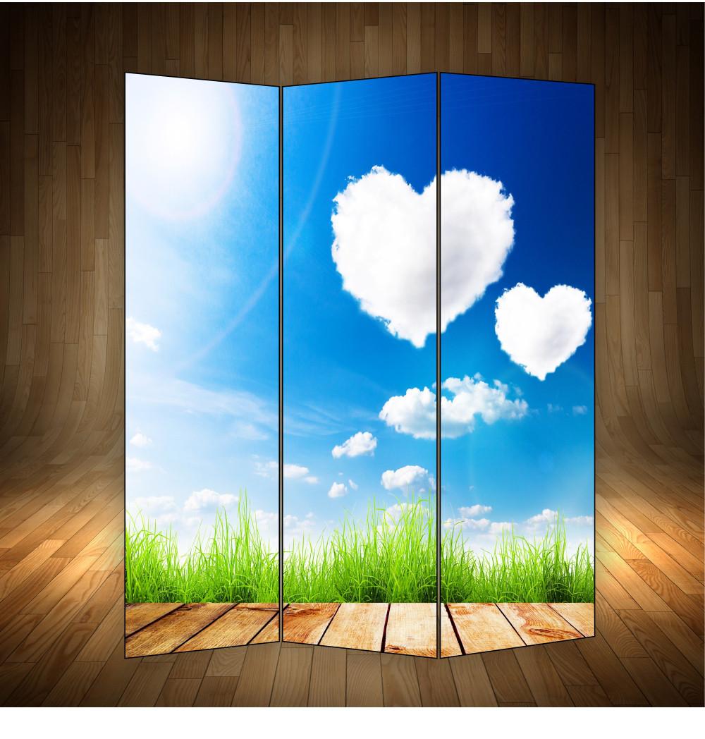 """Ширма декоративна"""" Кохання у повітрі"""""""
