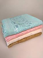 """Махровое полотенце для сауны """"SARAY""""  90*150 (хлопок 100% Турция)"""