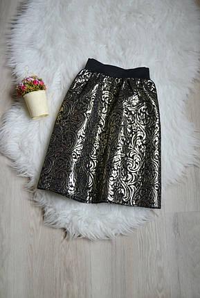 Короткая юбка в принт Miss Selfridge, фото 2