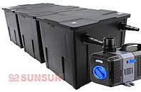 SunSun комплект оборудования для пруда  SunSun CBF 350C с UV 36Вт, CTP 10 000, фото 1
