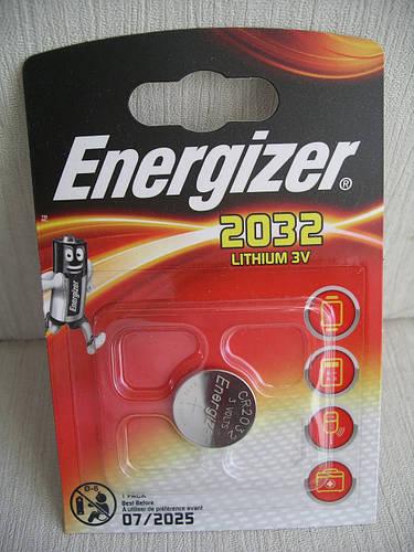 Energizer CR2032 батарейка