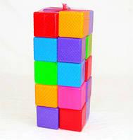 Кубик цветной, 20 дет., в сетке 40*16*16см, ТМ BAMSIC, произ-во Украина (4 шт/уп)