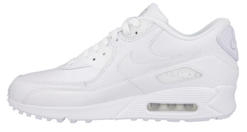 "Мужские кроссовки Nike Air Max 90 Essential ""All White"""
