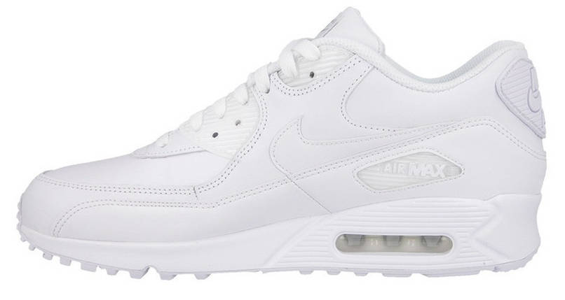 "Мужские кроссовки Nike Air Max 90 Essential ""All White"", фото 2"