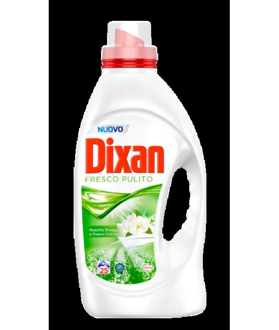 Жидкий порошок Dixan Muschio Bianco e Fresco Cotone 25ст