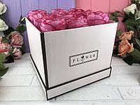"Коробка ""Flower"" бежевая"
