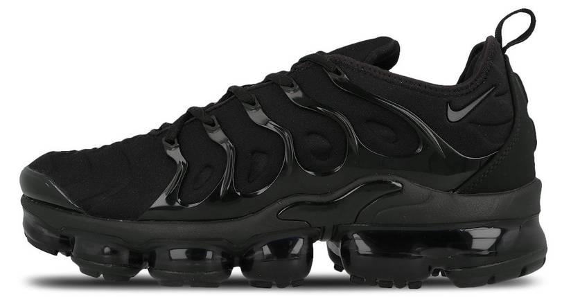 Мужские кроссовки Nike air VaporMax TN Black, фото 2
