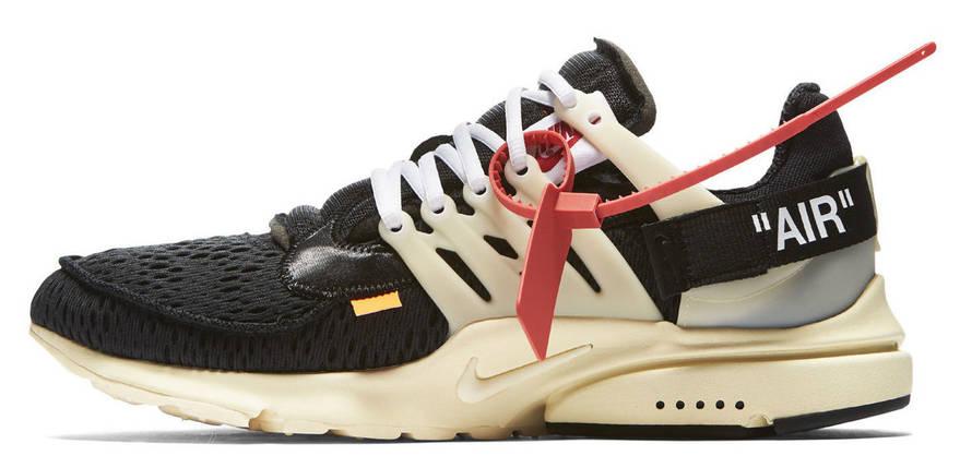 Мужские кроссовки Nike air presto x off-white, фото 2