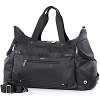 65cdd1971727 Спортивная сумка Dolly 940 черная большая с плечевым ремнем 58м* 32см* 26см