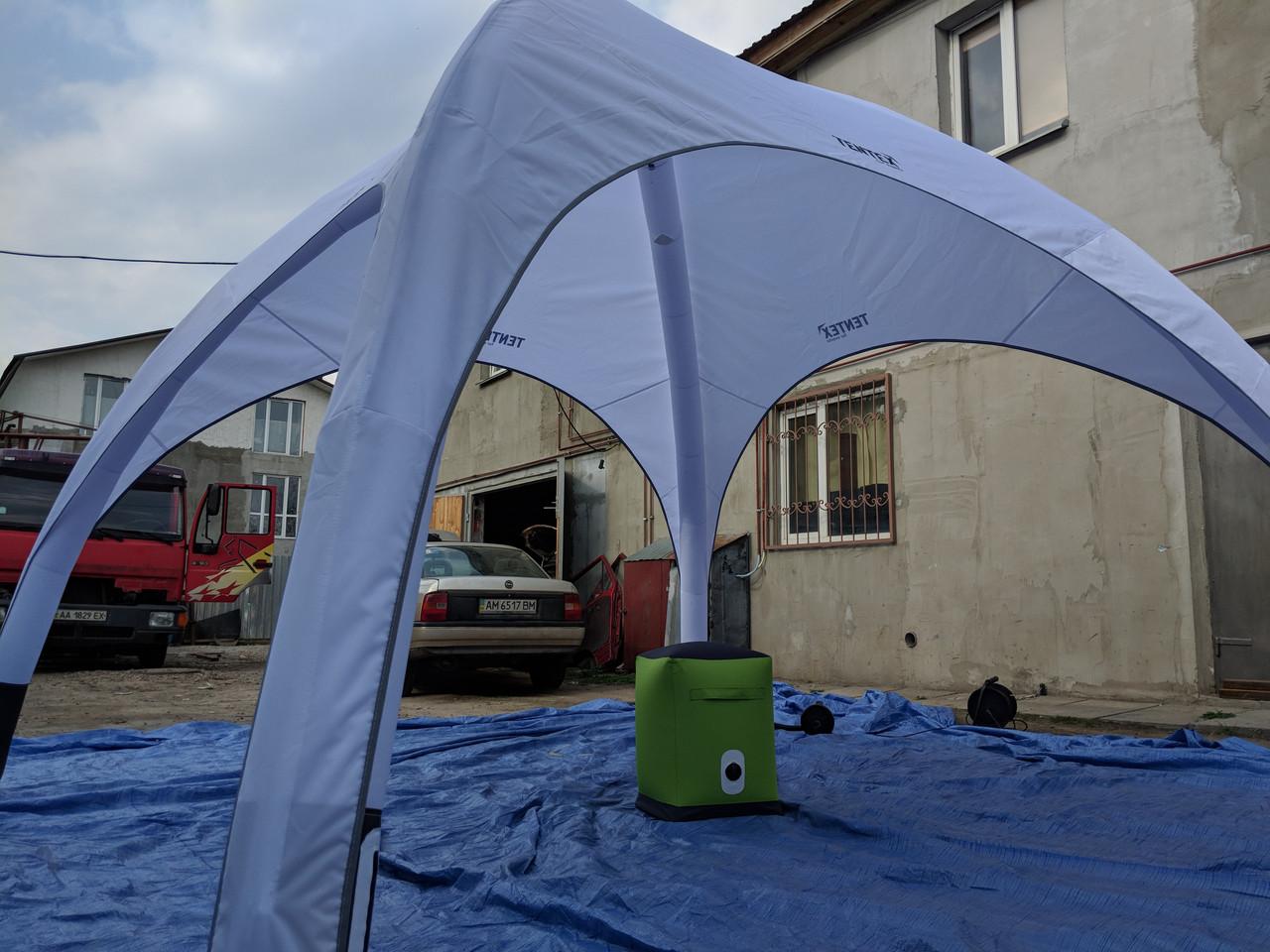 Пуфик, пуф аренда - надувная мебель - цвет Зелёный