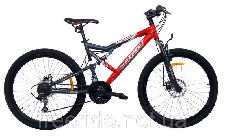 Подростковый Велосипед Azimut Scorpion 24 GD