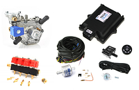 Мини-комплект ГБО LPG Tech DUO +форс.Valtek+ред.Tomasetto Alaska (подкапотка)