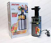 Соковыжималка MPM MSO 14 шнековая низкооборотистая