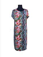 Летнее  платье из масла  батал (58,60)