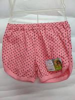 Детские короткие шорты цветные девочка 1-5 лет
