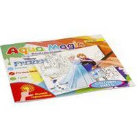 Книга Водяная пальчиковая раскраска Aqua Magic Frozen 741463