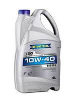 Ravenol TEG 10W40 кан.4л  моторное масло для двигателей, работающих на природном газе пропан-бутан,метан , фото 1