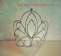Корона, диадема, тиара, высота 15 см., фото 1