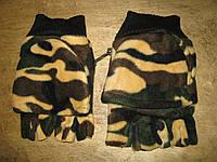 Перчатки мужские флисовые Милитари