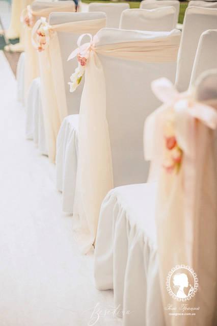 Нежная классическая свадьба в ресторане Порто Рива 6