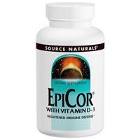 Эпикор 500 мг 30 капс противовирусное, быстрая активизация иммунитета в теч. 2-х часов Source Naturals USA