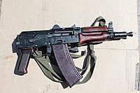 АКС-74У  (Автомат Калашникова складной укороченный 5,45-мм) Макет массогабаритный, фото 1