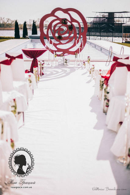 Свадьба в Порто Рива серебро + марсала  4