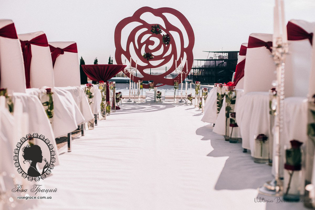 Свадьба в Порто Рива серебро + марсала