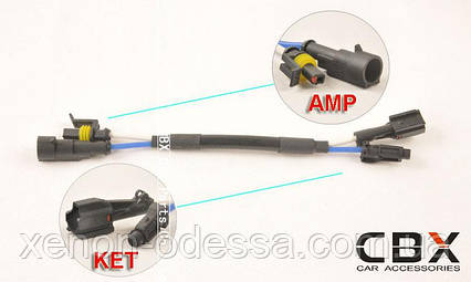 Адаптер переходник KET - AMP, фото 2