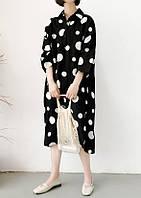 Платье-рубашка оверсайс, фото 1
